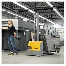 What is an electric stacker?